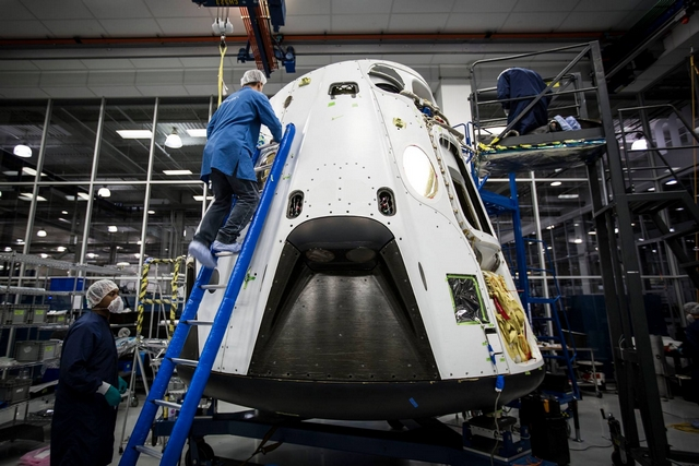 Nächste Generation: Crew DRAGON mit Crew Raumschiff. (Foto: SpaceX)