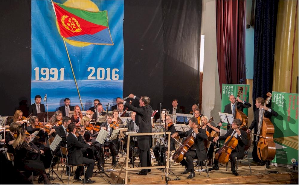 Philharmonie-Auftritt im Mai 2016 in Eritrea (Foto: M. Zimmermann)