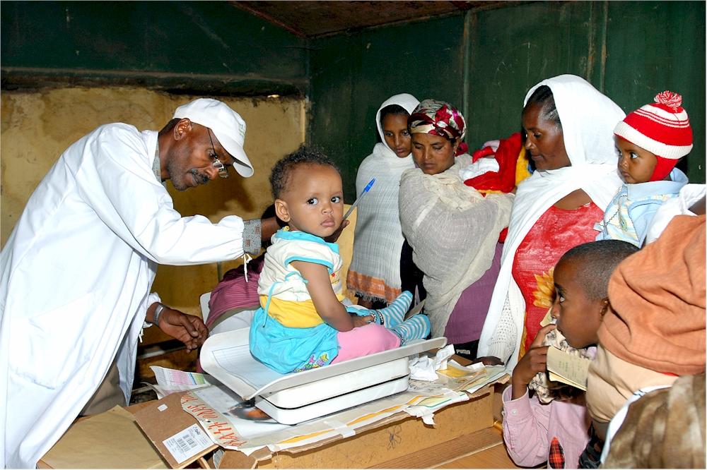 Basis-Gesundheitsversorgung in Eritrea (Foto: M. Zimmermann)
