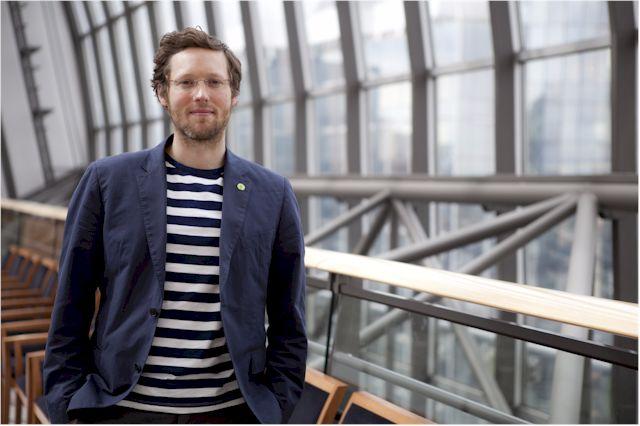 Jan Philipp Albrecht, stellvertretender Vorsitzender des Innen- und Justizausschusses im Europäischen Parlament. (Foto: Fritz Schumann)