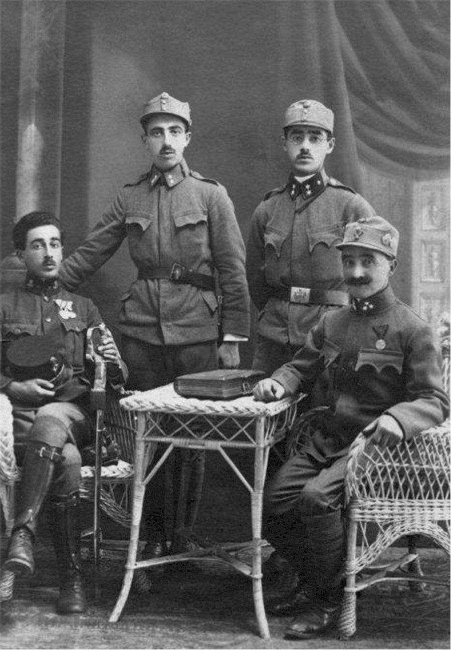Im Ersten Weltkrieg (Foto: H. Wilkes)