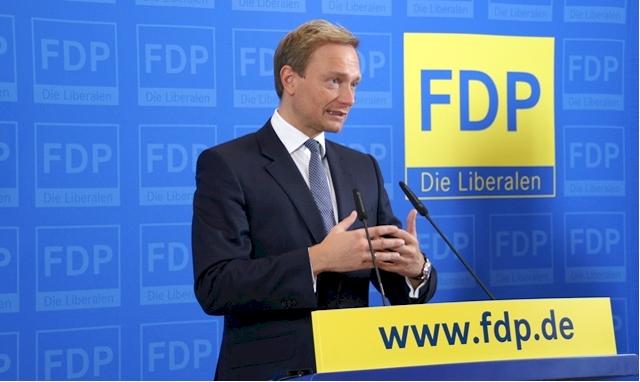 Kann Christian Lindner (Vorsitzende der FDP) das Ruder in der Partei herumreißen? (Foto: FDP / Kowalke)
