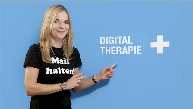 Immer auf Facebook & Co. und doch nicht da? Eine Therapie kann helfen (Foto: Anitra Eggers / Orell Füssli)