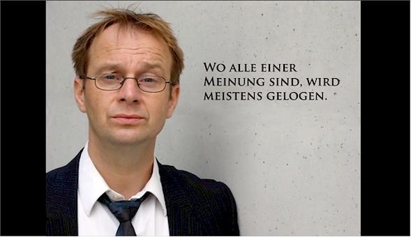 Kunst die Chance gibt, unangenehme Wahrheiten auszusprechen. (Foto: Clipealer.de)