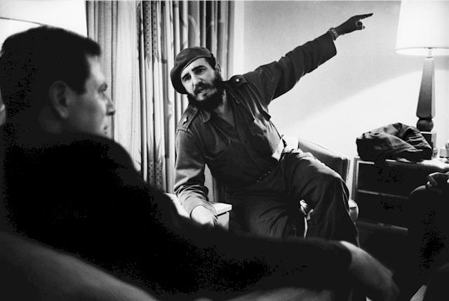 Fidel Castro, Cuba, 1963 - Alle Fotorechte: © Marc Riboud