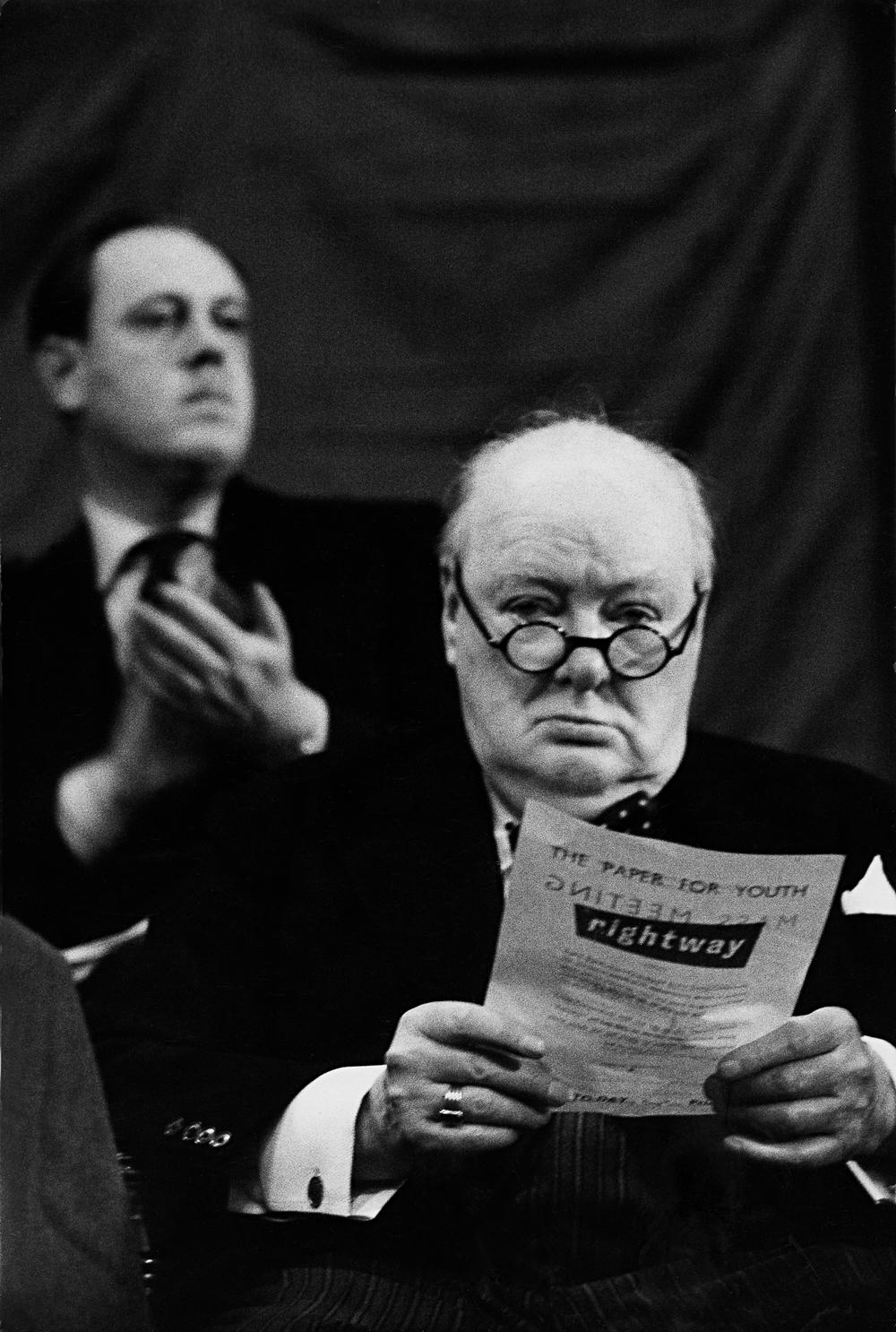 Winston Churchill, Blackpool (1954) -  Alle Fotorechte: © Marc Riboud