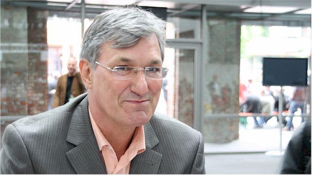 Bernd Riexinger, Vorsitzender der Partei DIE LINKE, kritisiert TTIPP-Abkommen.   (Foto: dielinkebw)