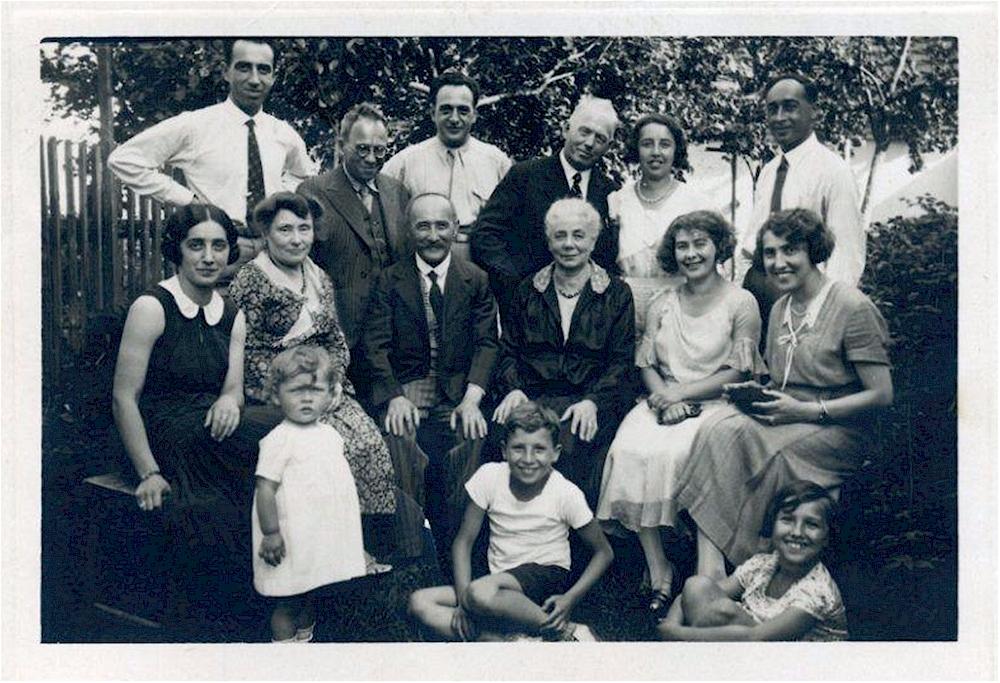 Familie Waldstein im Jahre 1935 (Foto: H. Wilkes)