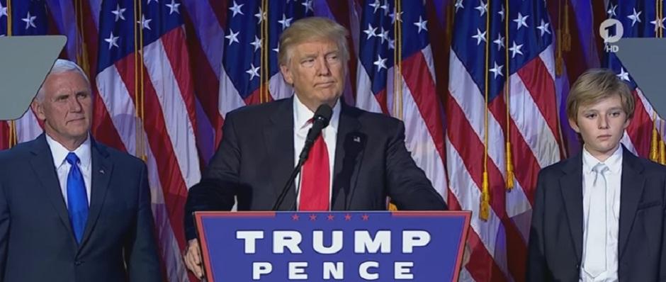 Trump Antrittsrede