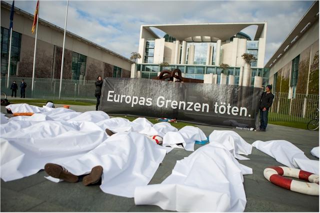 Die EU-Flüchtlingspolitik ist  ein Desaster und eine menschliche Tragödie, dei vermeidbar wäre.  (Foto: Jakob Huber/Campact)