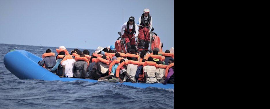 Seenotrettung: 82 Gerettete in Lampedusa an Land