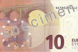 Hurrah! Der neue Euro-Zehner ist jetzt da.