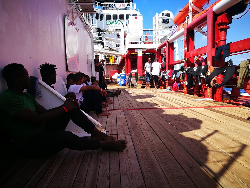 (Foto: Laurence Bondard_SOS MEDITERRANEE)