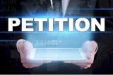Ihre Unterschrift zur Stärkung des Petitionsrechts