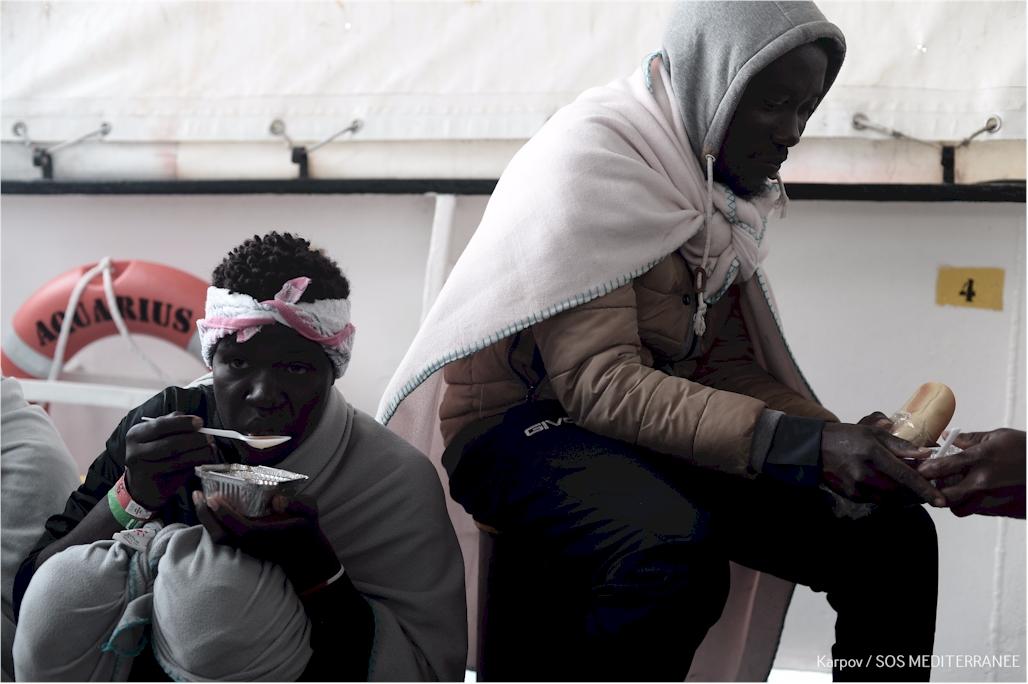 (Foto: Kenny Karpov/SOS MEDITERRANEE)